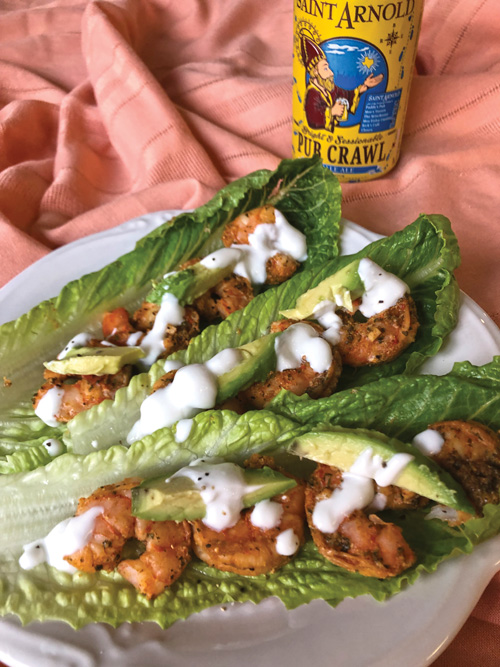 shrimp lettuce wrap Fresh Seafood Lettuce Wrap Recipes