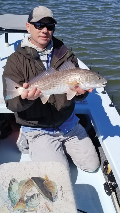 sight cast redfish Upper Texas Coast Spring Fishing