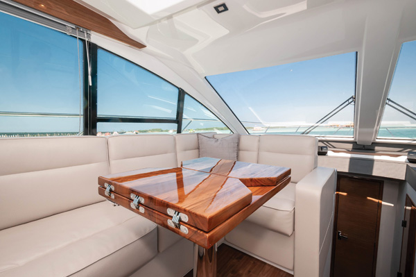 cantius salon Cruisers Yachts 50 Cantius: Infinite Entertaining