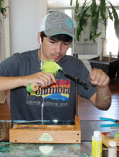 shane fly The Fine Art of Fly Tying