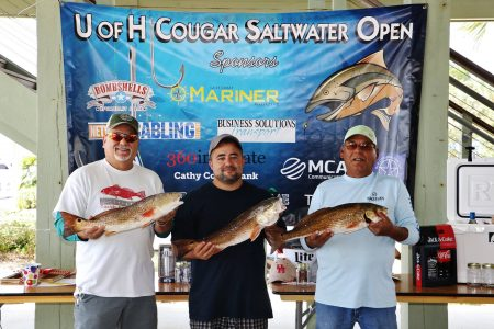 62446610 1386741711475365 6116945740687212544 o 450x300 12th Annual Cougar Saltwater Open Fishing Tournament