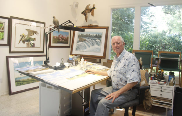 MG 3948 625x400 Meet Wildlife Artist Leslie McDonald, Jr.