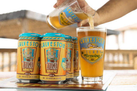 tiki wheat 450x300 Owner of Galveston Island Brewing Keeps the Island Vibes Alive